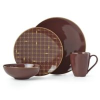 Lenox® Trianna Merlot™ 4-Piece Place Setting