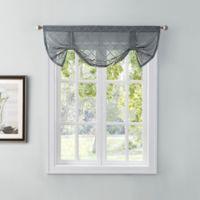 Tiburon Window Valance in Grey