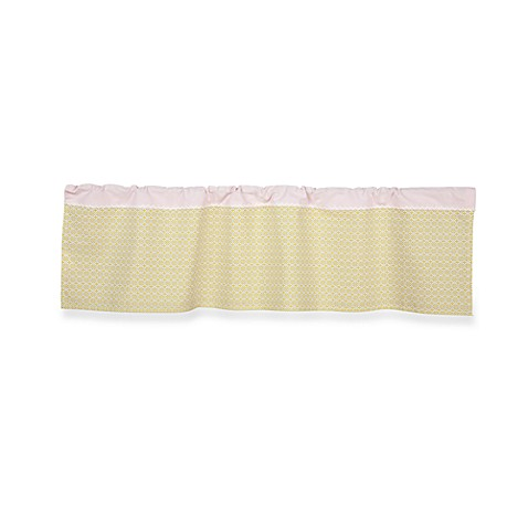 Lolli Living™ by Living Textiles Baby Window Valance in Morocco Green