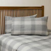La Rochelle Flannel Queen Sheet Set in Grey