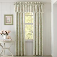 Piper & Wright Lena 84-Inch Rod Pocket Window Curtain Panel Pair in Sage