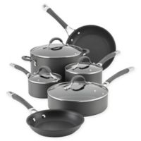 Circulon Radiance Nonstick Hard-Anodized 10-Piece Cookware Set in Grey