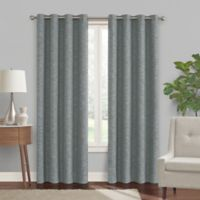 Turner 108-Inch Grommet Blackout Window Curtain Panel in Grey