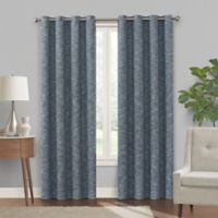 Turner 95-Inch Grommet 100% Blackout Window Curtain Panel in Navy