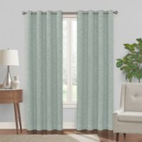Turner 108-Inch Grommet 100% Blackout Window Curtain Panel in Spa