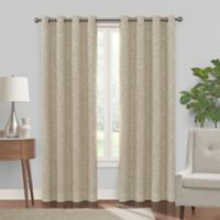 Turner 84-Inch Grommet 100% Blackout Window Curtain Panel in Mocha