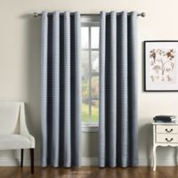 Therapedic® Camilla 108-Inch 100% Blackout Grommet Window Curtain Panel in Blue