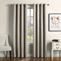 Therapedic® Camilla 108-Inch 100% Blackout Grommet Window Curtain Panel in Chardonnay