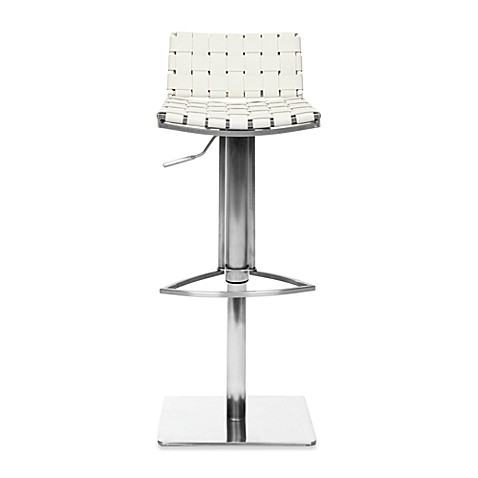 Safavieh Mitchell Gas Lift Bar Stool Bed Bath Amp Beyond