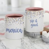 Sparkling Name Personalized 11oz Coffee Mug
