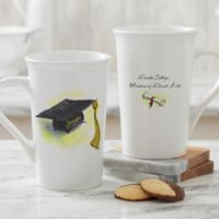 Cap & Diploma Personalized 16oz. Latte Mug