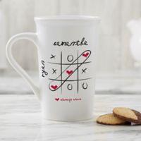 Personalized Love Always Wins 16oz. Latte Mug