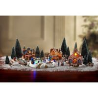 Christmas Village 30-Piece Battery-Operate Set