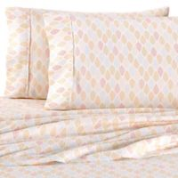 Home Collection Fall Foliage Queen Sheet Set in Yellow
