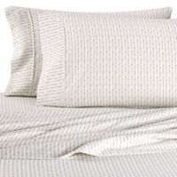 Home Collection Beaded Arrows Twin Sheet Set in Sage