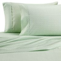 Home Collection Urban Arrows Full Sheet Set in Jade