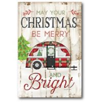Courtside Market™ Christmas Camper 12-Inch x 1.5-Inch Framed Wrapped Canvas