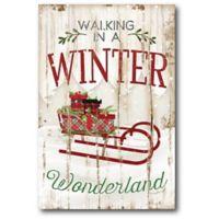 Courtside Market™ Winter Wonderland 12-Inch x 1.5-Inch Framed Wrapped Canvas