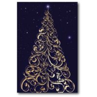 Courtside Market™ Xmas-tree I 12-Inch x 1.5-Inch Framed Wrapped Canvas