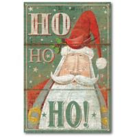 Courtside Market™ Ho Ho Ho 12-Inch x 1.5-Inch Framed Wrapped Canvas