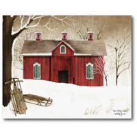 Courtside Market™ New Fallen Snow 16-Inch x 1.5-Inch Framed Wrapped Canvas