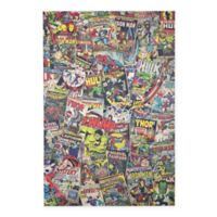 Masterpiece Art Gallery 36-Inch x 24-Inch Marvel Avengers Comic Book Covers Collage Canvas Wall Art