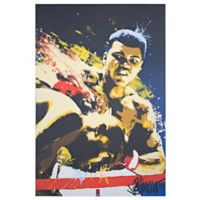 Licensed Muhammad Ali Pop Art 24-Inch x 36-Inch Canvas Wall Art