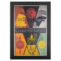 """Game Of Thrones"" Siglis 13-Inch x 19-Inch Framed Wall Art"