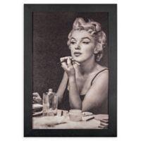 Vintage Marilyn Monroe 13-Inch x 19-Inch Framed Wall Art