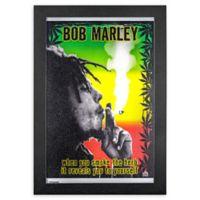 Bob Marley 1-Inch x 19-Inch Framed Print