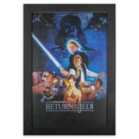 Masterpiece Art Gallery Star Wars Episode VI 13-Inch x 19-Inch Framed Print Wall Art