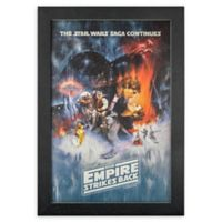 Masterpiece Art Gallery Star Wars Episode V 13-Inch x 19-Inch Framed Print Wall Art