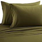 Micro Flannel®  Solid Queen Sheet Set in Olive