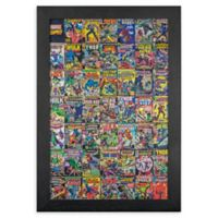 Masterpiece Art Gallery Marvel Comic Book 13-Inch x 19-Inch Framed Canvas Wall Art