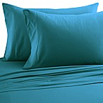 Micro Flannel® Solid Queen Sheet Set in Teal