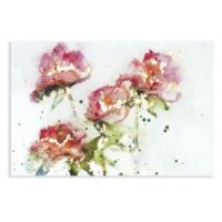 A Day in the Garden 24-Inch x 36-Inch Canvas Wall Art