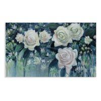 Fancy Florals 36-Inch x 60-Inch Canvas Wall Art