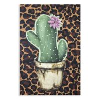 Crazy Cacti I 20-Inch x 30-Inch Canvas Wall Art
