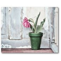 Courtside Market™ Take A Bow Tulip 16-Inch x 20-Inch Framed Wrapped Canvas