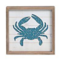 Sweet Bird & Co™ Crab Weave Wood Wall Art in White