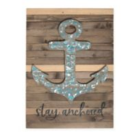 Sweet Bird & Co™ Stay Anchored Wood Wall Art