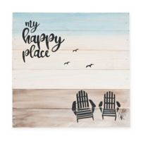 Sweet Bird & Co™ My Happy Place Wood Wall Art