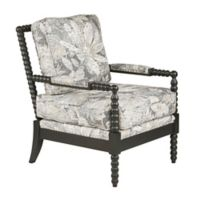 Madison Park™ Polyester Upholstered Donohue Chair in Blue/multi