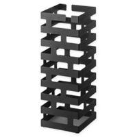 Yamazaki® Brick Square Umbrella Stand in Black