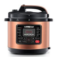 GoWISE USA® 12.5 qt. 12-in-1 Electric Pressure Cooker in Copper