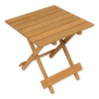 Winsome Home Hemlock Outdoor End Table in Natural