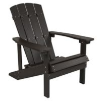Flash Furniture All-Weather Adirondack Chair in Slate Grey