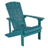 Flash Furniture All-Weather Adirondack Chair in Sea