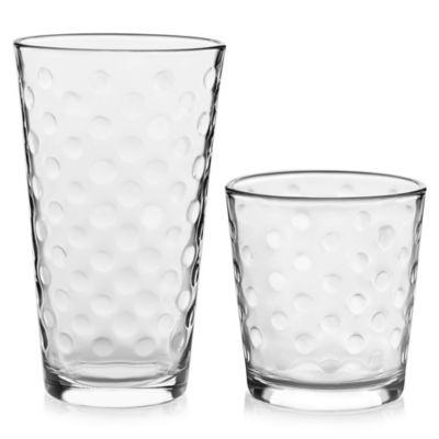 4804f4208507 Libbey® Glass Awa 16-Piece Drinkware Set in Clear