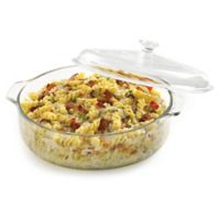 Libbey® Glass Bakers 3 Qt. Casserole Dish with Cover in Clear